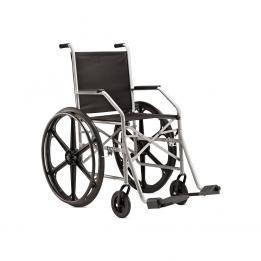 Cadeira De Rodas Aço Pi 1009 Nylon 40cm (Pneu Inflável) Ref. 8382 Jagua
