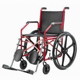 Cadeira De Rodas Vinho (45) ( Maciço ) Ref.1012 Jagua