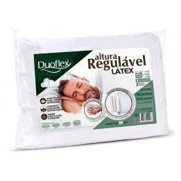 Travesseiro Latex Regulavel De Altura 20cm   Duoflex Clinica Dos Pés