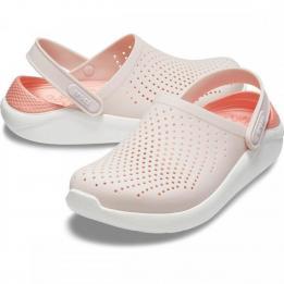 Sandalia Literide Clog Crocs Clinica Dos Pés ROSA/BRANCO 35 2045926