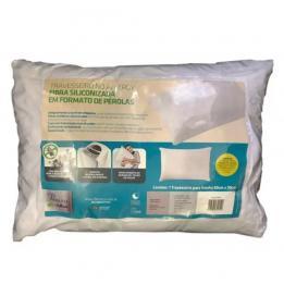 Travesseiro No Allergy Fibra Siliconada Fibrasca Clinica Dos Pés