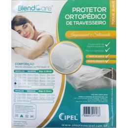 Protetor Ortopédico Travesseiro C/ Ziper 50x70 Transparente Cipel