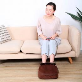 Relaxante Massageador Shiatsu Para Pés Bioland Clinica Dos Pés