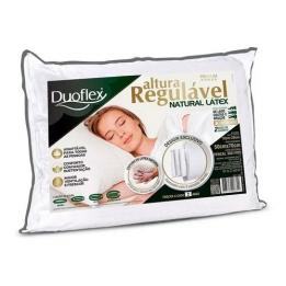 Travesseiro Altura Regulável Natural Latex Ref: Rl1100 Duoflex Clinica Dos Pés