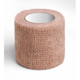 Bandagem Elástica Autoaderente 5x450cm Bege Bioland