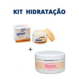 Kit Hidratação Homeopast + Esfoliante