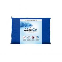 Lençol Linhogel Solteiro Cor Azul 0,90x1,90 Ref. 7553 Fibrasa Clinica Dos Pés