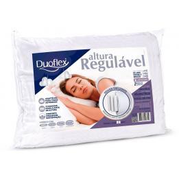 Travesseiro Altura Regulavel Espuma Ref: Re1103 Duoflex
