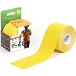 Bandagem Elástica Funcional Kinésio 5cmx5m AMARELO  KINÉSIO