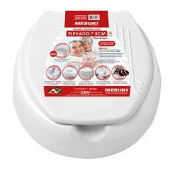 Assento Elevado P/ Vaso Sanitário Tam: 7,5cm Ref. 366 Mebuki