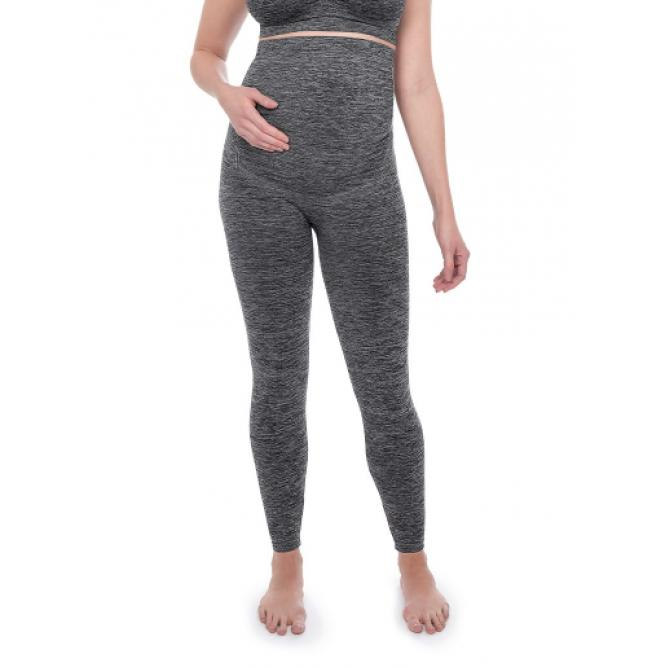 Legging Gestante Duomix Maternity - Plie ONIX P 050045