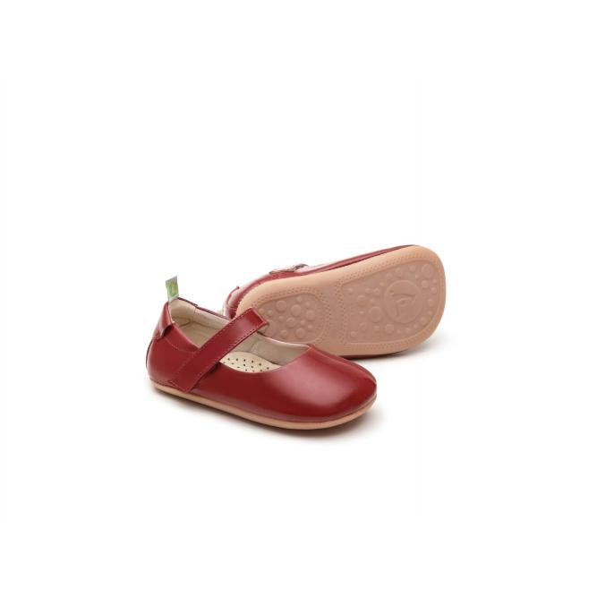 Sapatilha Baby Dolly - Tip Toey Joey PATENT RED 17 773