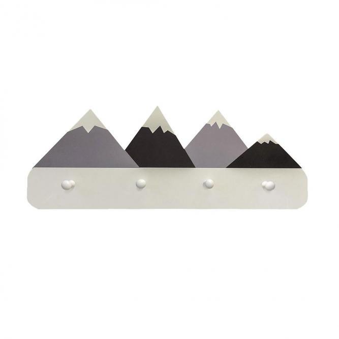Cabideiro De Montanha - Modali Cinza  MCWT95