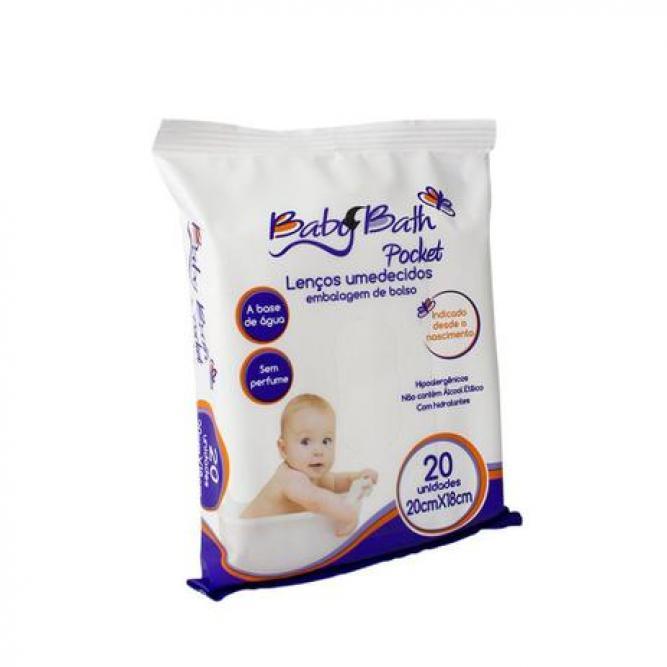 Lenço Umedecido - Bath Pocket