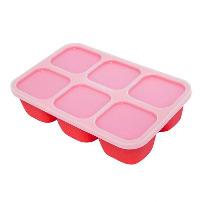 Forma Para Congelar Alimentos - Marcus & Marcus Vermelho  MNMBB14-LN