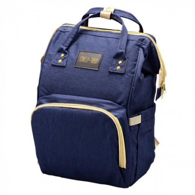 Bm1831-3 Mochila Bolsa Maternidade Azul Jeans-Lovely Baby Unik JEANS  BM1831-3