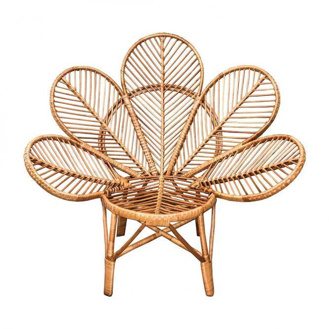 Cadeira Natural Petalas - Modali Natural  MBM024