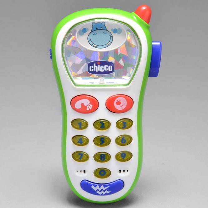 Brinquedo Telefone Vibra E Capta - Chicco