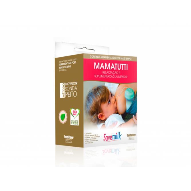 Mamatutti Complemento Para Amamentação - Savemilk  Verde  268