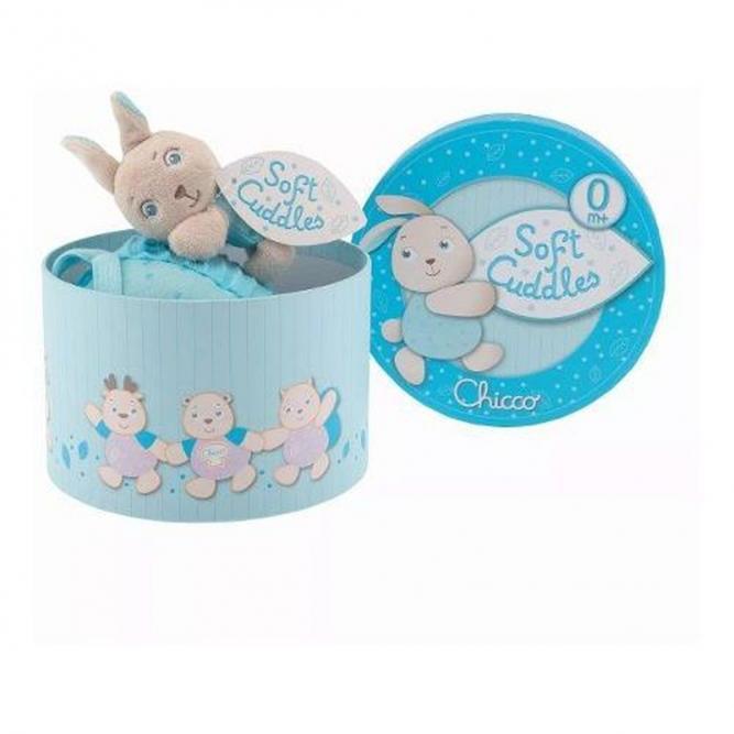 Caixa De Musica Soft Cuddles - Chicco Azul 0M+ 00007497200000