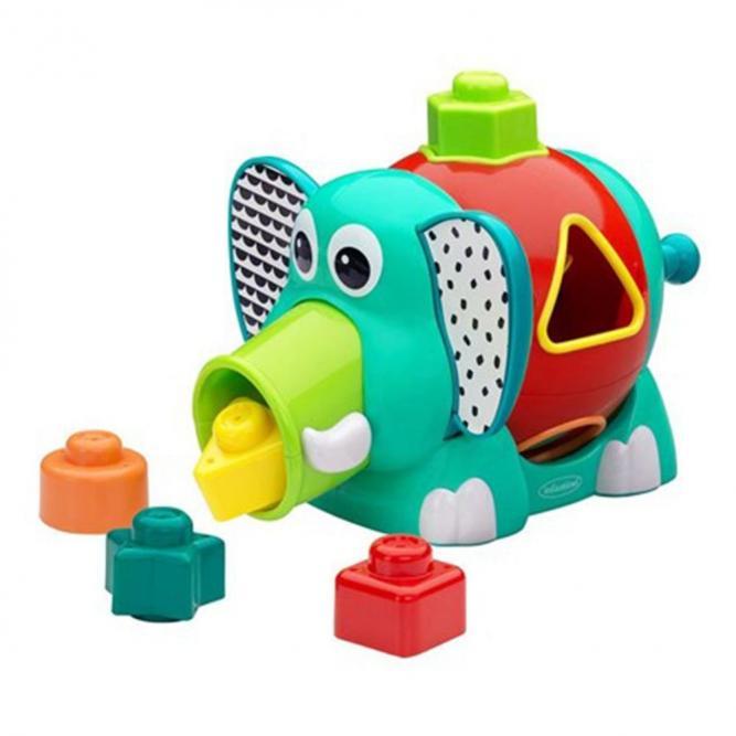 Brinquedo Interativo De Encaixe - Infantino ELEFANTE  3542