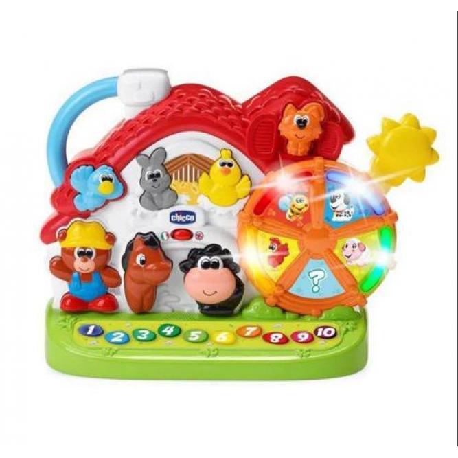 Brinquedos Atividades Da Fazenda - Chicco COLORIDO 12M+ 60079000610