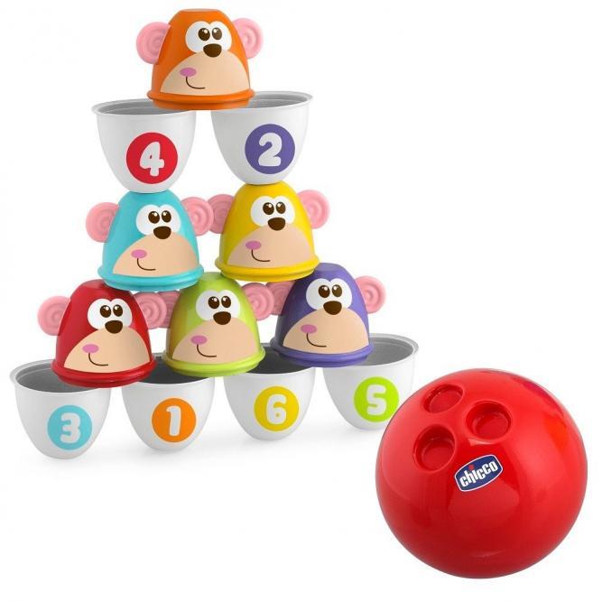 Brinquedos Boliche Dos Macaquinhos - Chicco
