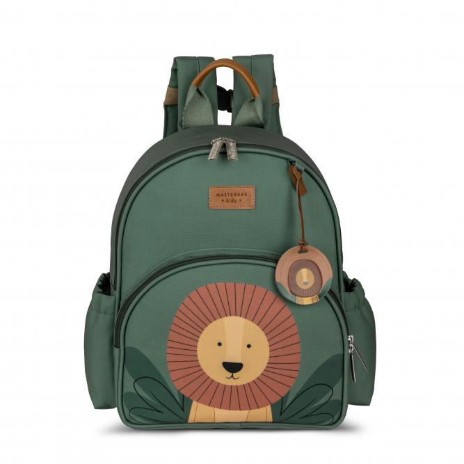 Mochila Kids - Masterbag LEAO VERDE 36X26X10CM 14LEO305