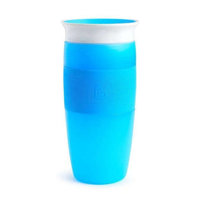 Copo Grande 360º - Munchkin Azul 414ML 0211478