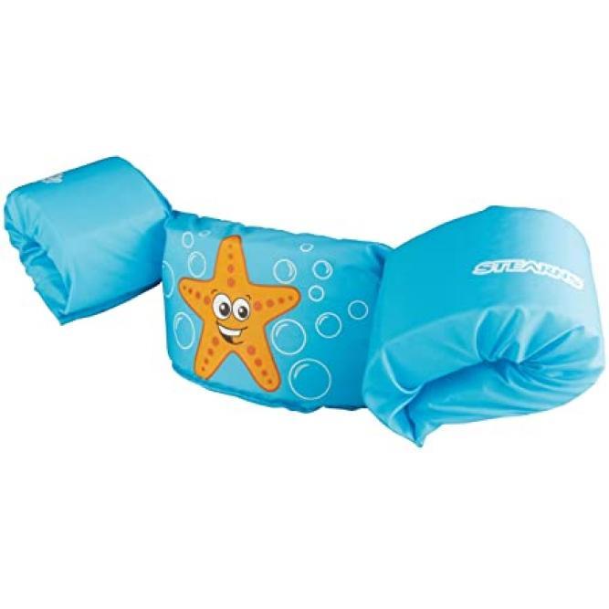 Colete Flutuante Com Boias Infantil - Puddle Jumper Azul Unico 110330002180