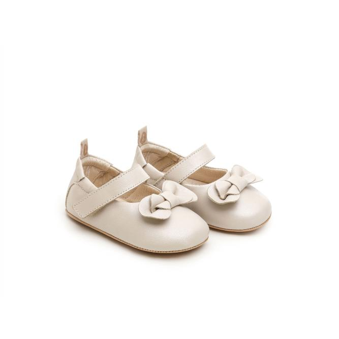 Sapatilha Baby Care - Tip Toey Joey  ANTIQUE WHITE 14 975