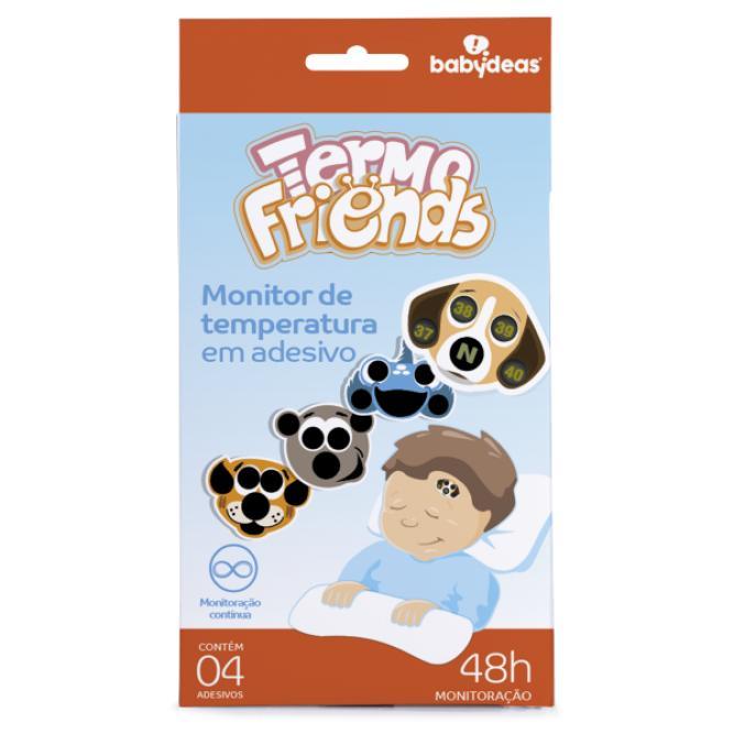 Adesivo Indicador Febre Termofriends Babydeas 4 UNI  70010707