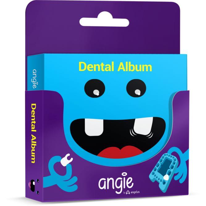 Dental Álbum Premium - Angie Azul 16X12,5X2,2 972
