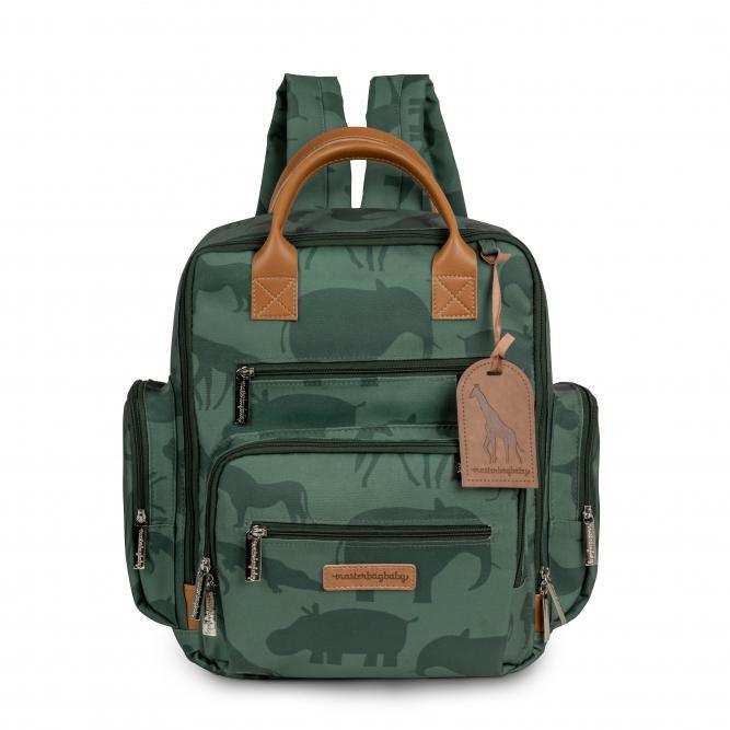 Mochila Urban - Masterbag VERDE SAFARI 32X35X17CM 12SAF313