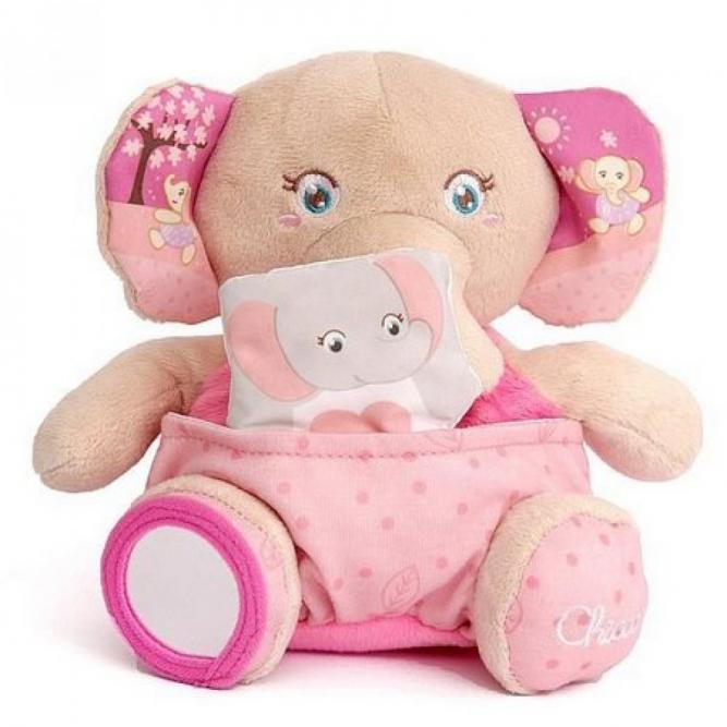 Brinquedos Mamãe Elefante Soft Cuddles - Chicco ELEFANTE 0M+ 770700