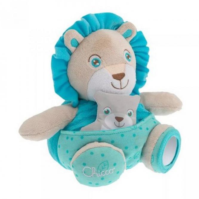 Brinquedos Papai Leão Soft Cuddles - Chicco LEAO 0M+ 770600