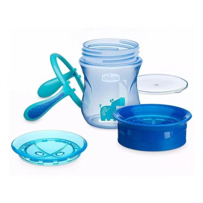 Copo 360 Perfect Cup 12m+ Tampa Azul Chicco 6951200 12MESES+ TAMPA AZUL 00006951200000