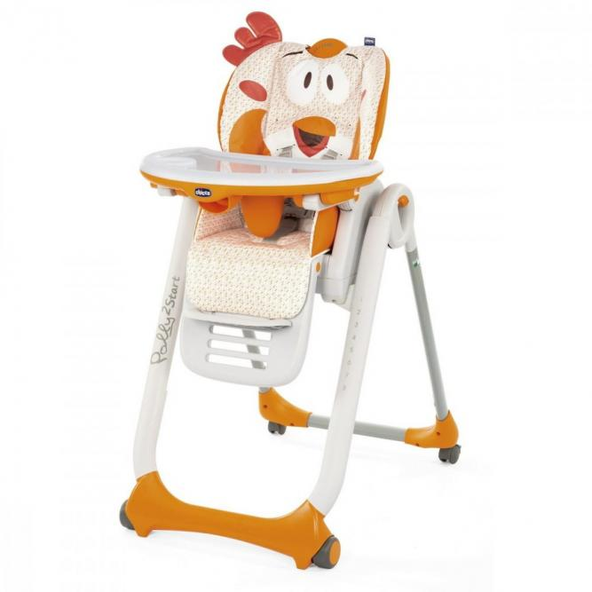 Cadeira Papa Polly2start - Chicco  FANCY CHICKEN  79205960480