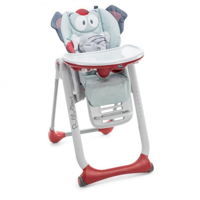 Cadeira Papa Polly2start - Chicco  BABY ELEPHANT  407920569