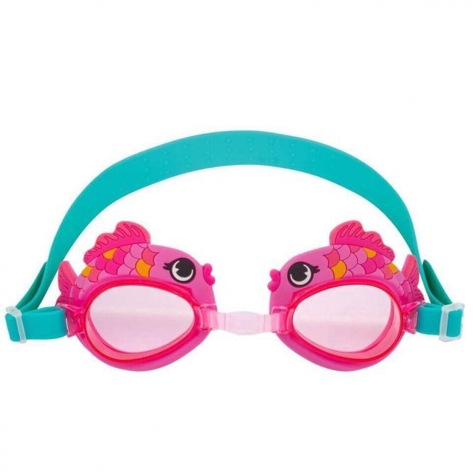 Óculos De Natação - Bupbaby PEIXE ROSA  2225
