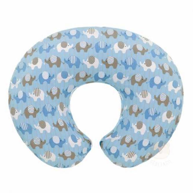 Capa Almofada Boppy - Chicco ELEPHANTS BLUE  08079904380000