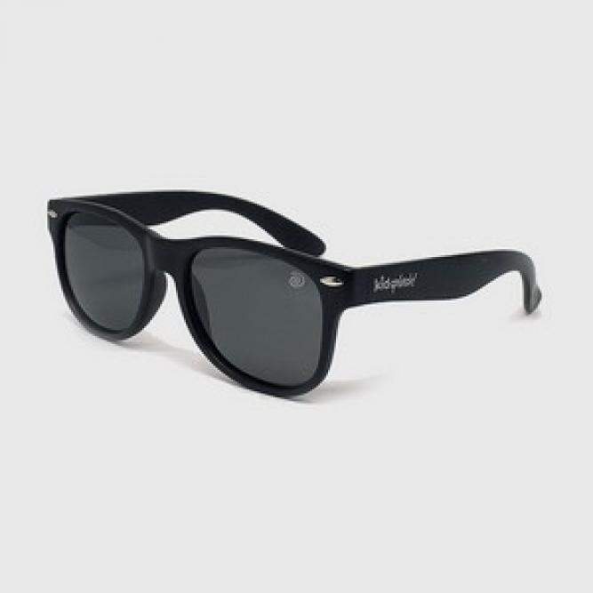 Óculos De Sol Infantil Flexível Com Lente Polarizada E Proteção Uv400 Preto - Kidsplash