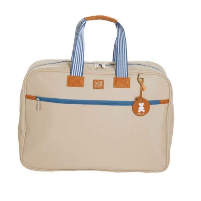 Mala Maternidade Classic - Masterbag MARFIM LISTRAS 48X35X14CM 51MBC370
