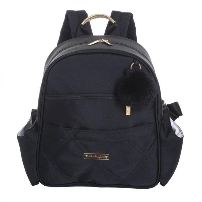 Mochila Lu - Masterbag PRETA SOHO 32X35X17CM 11SHO312