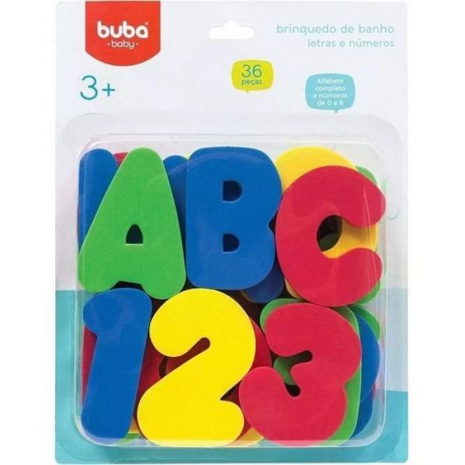 Banho Letras E Números - Buba COLORIDO  10728