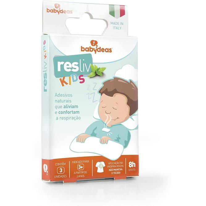 Adesivo Descongestionante Resliv Kids - Babydeas  3 UNI