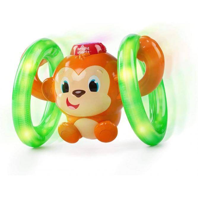 Brinquedo Macaquinho Corredor Roll E Glow Monkey - Bright Stars MONKEY  52181