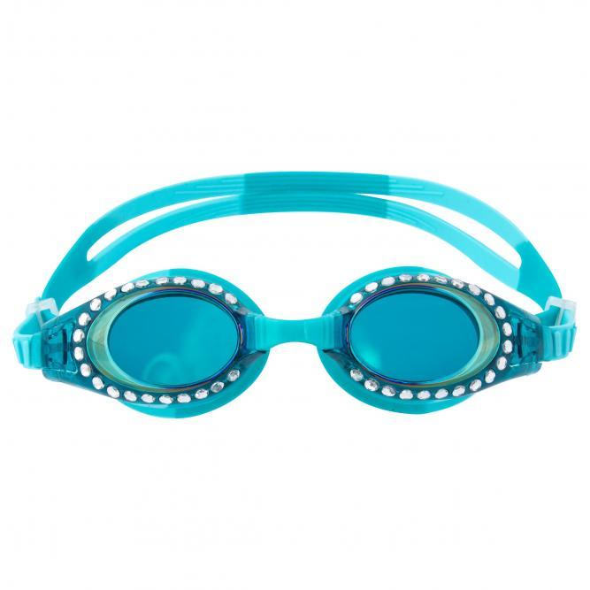 Óculos De Natação Com Brilho - Stephen Joseph AZUL TURQUESA  2643
