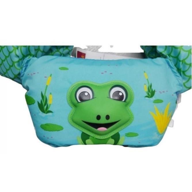 Colete Salva Vidas 3d Frog Verde - Puddle Jumper