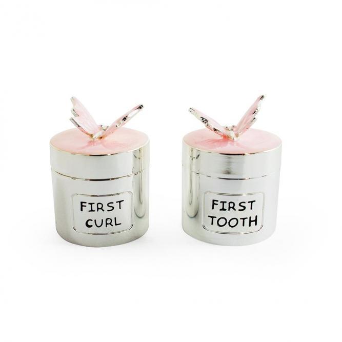 Meu Primeiro Dente/Cacho - Modali Rosa  MCPK0736
